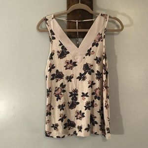 Floral tank by Maurice's, size Small